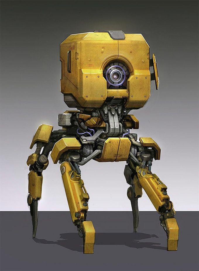 Diesel Robot Concept Art