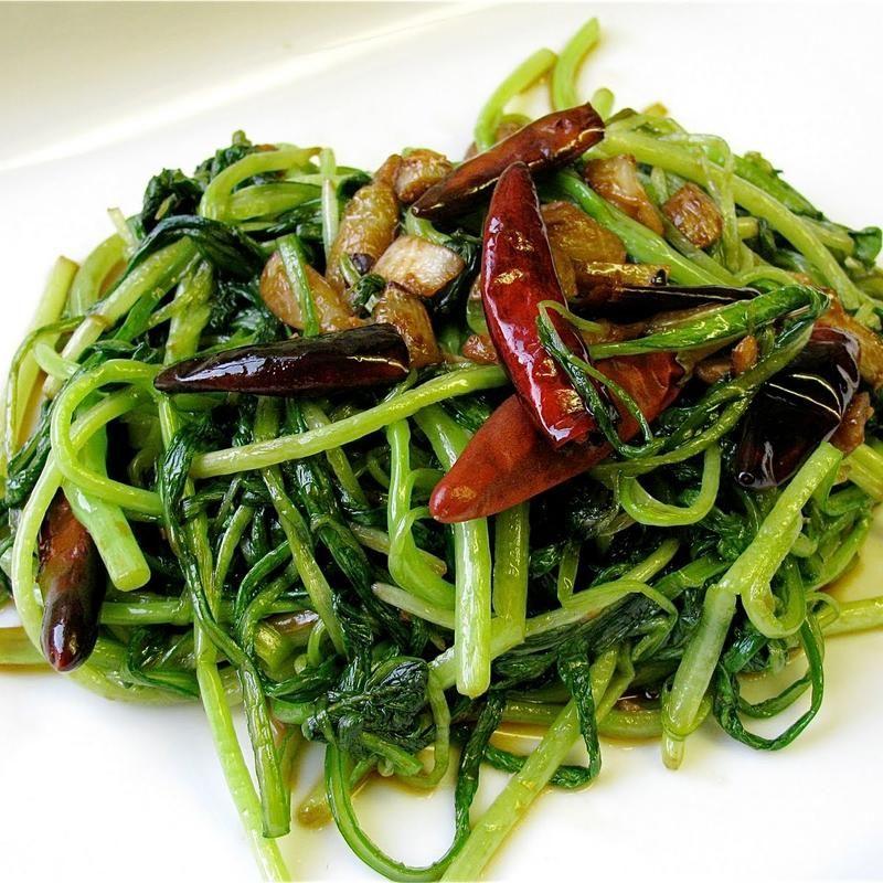 Sauteed Chinese Green With Garlic Sauce Green Tea House