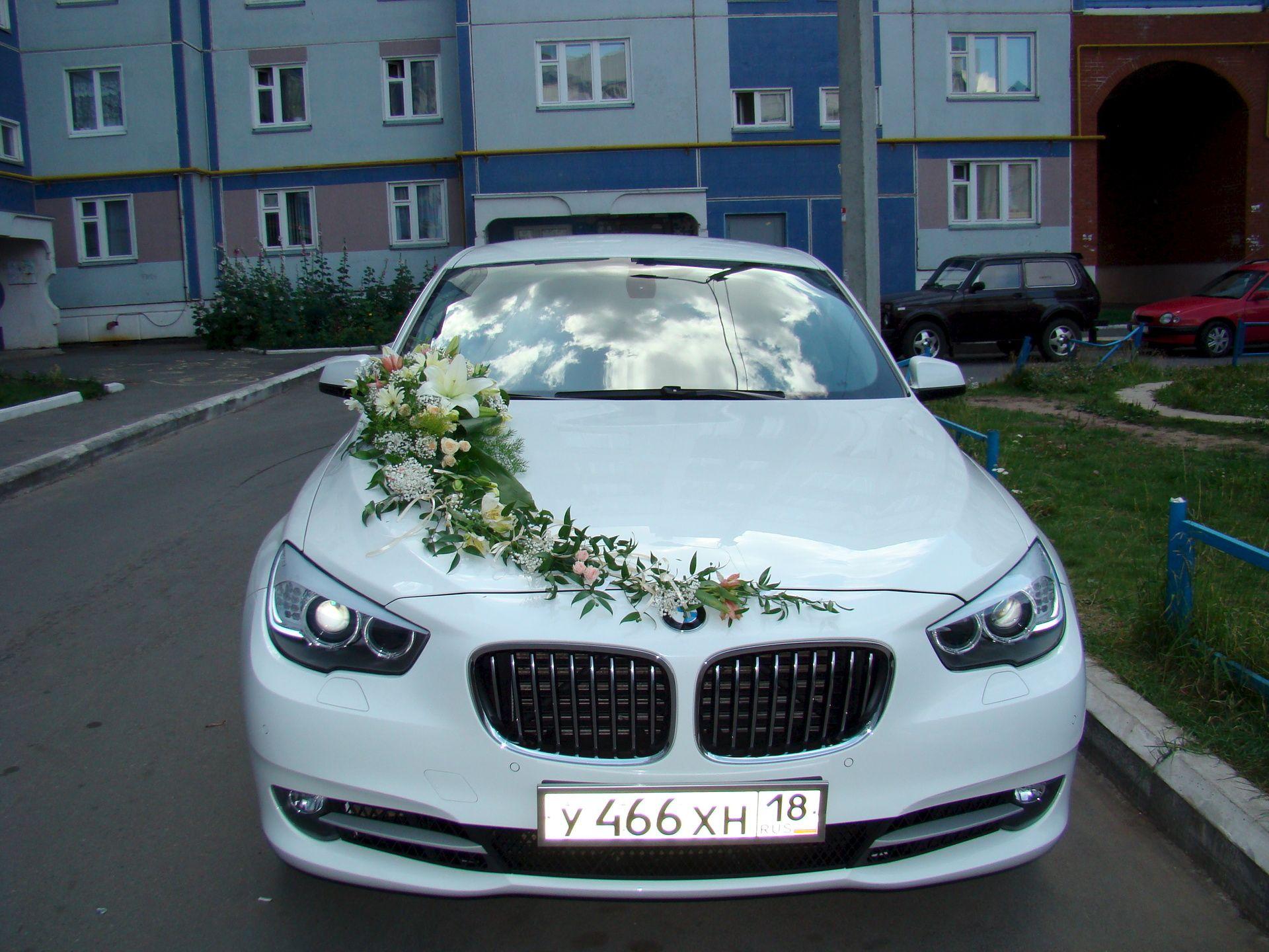 фото машины на свадьбу оформление