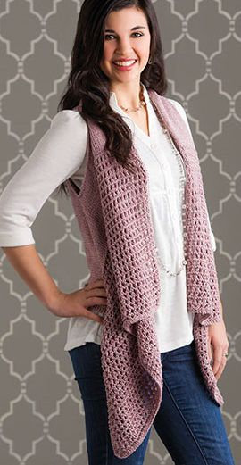 Versatile Vest Knitting Patterns Pinterest Vest Pattern