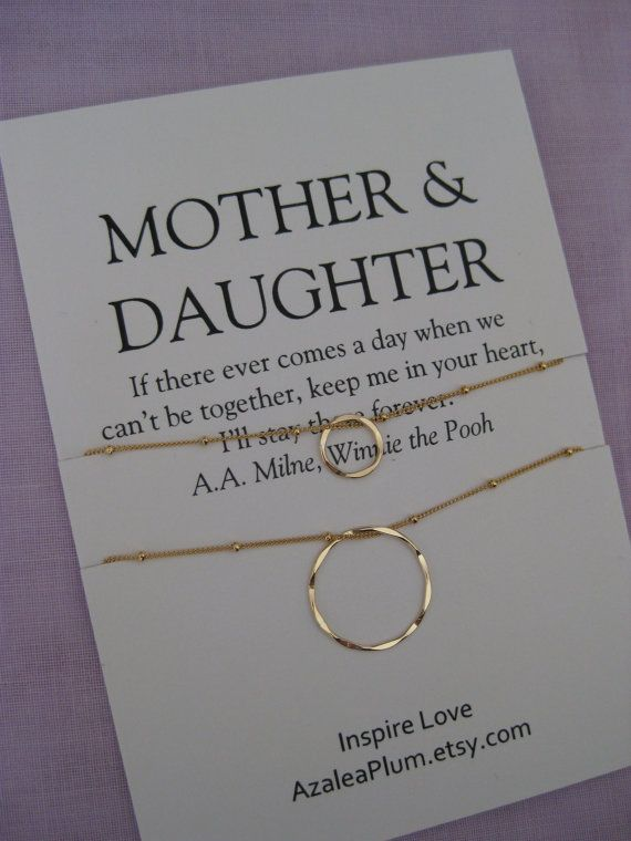 MOTHER Daughter Jewelry 50th Birthday Gift Mother By AzaleaPlumll