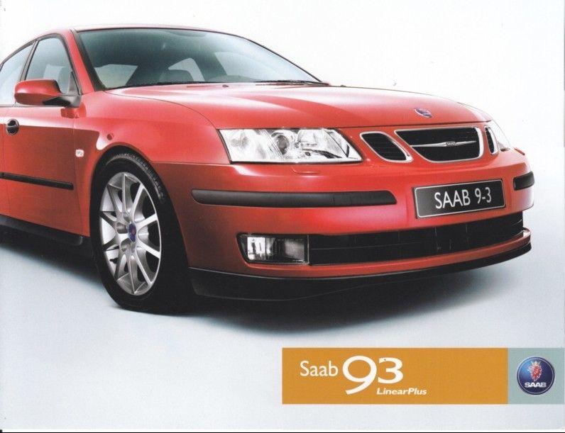 2003 Saab 9 3ss Linear Edition Saab Saab 9 3 Suv