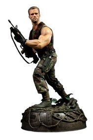 Predator Movie: Arnold Schwarzenegger as Dutch Schaefer 1/4 Scale Premium Format Statue