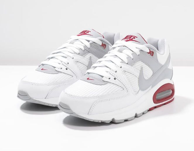 Nike Sportswear AIR MAX COMMAND Baskets basses white wolf grey gym red prix  Baskets Homme Zalando € TTC - Baskets Nike AIR MAX COMMAND Fermeture   laçage. 2dc407c23d89