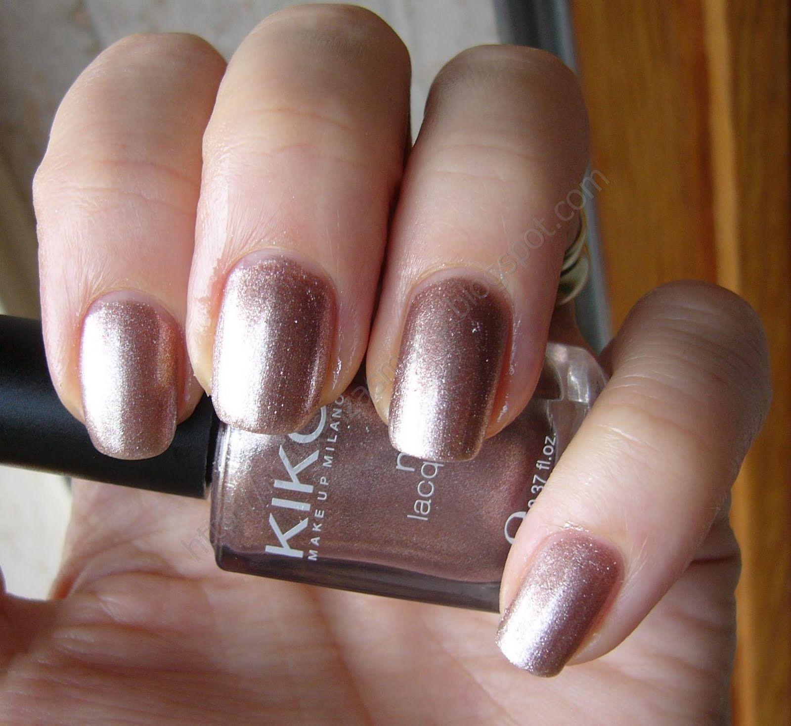 Kiko - nail polish - 303 - beige chrome http://www.kikocosmetics.com ...