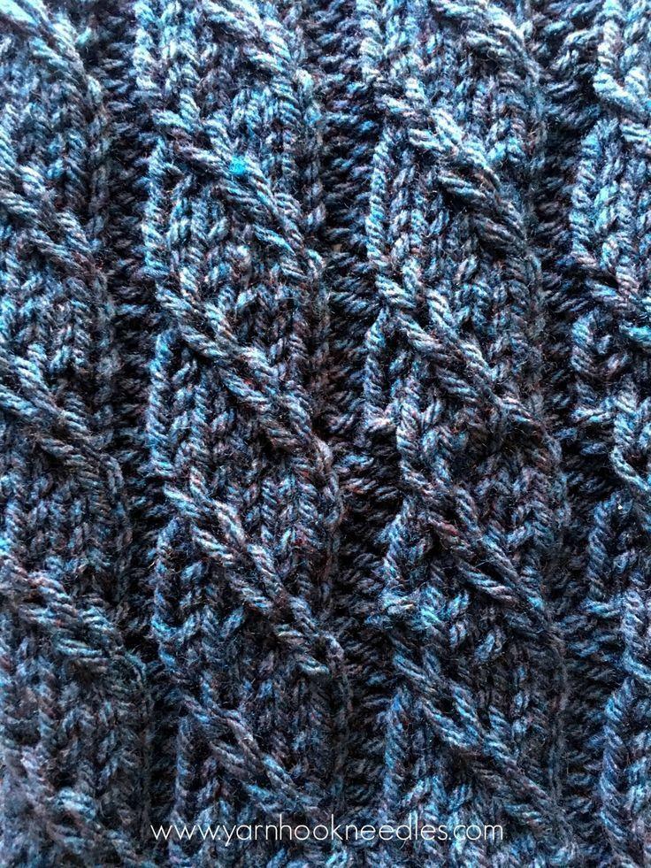 Point de tricot torsadé Trill avec lien de motif GRATUIT – Fil | Crochet | Aiguilles, Le tricot triple 'T' …   – Baby Blog