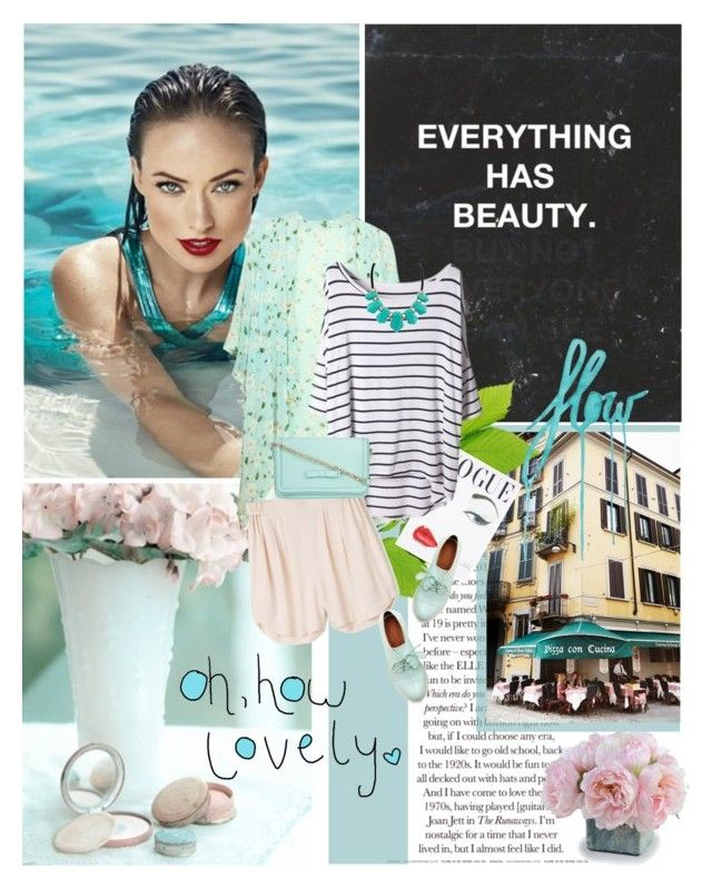 """""""Mint Summer"""" by teacafe ❤ liked on Polyvore"""