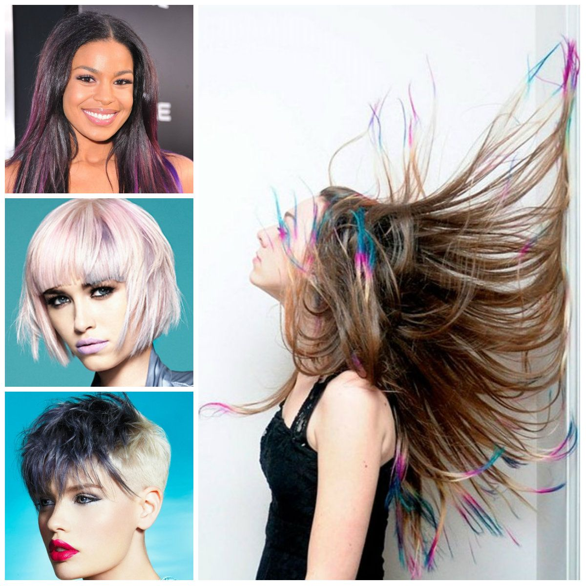 Hairstyles 2016 dark hair - Hair Highlights Haircuts Hairstyles 2016 2017 And Hair Colors For Short Long
