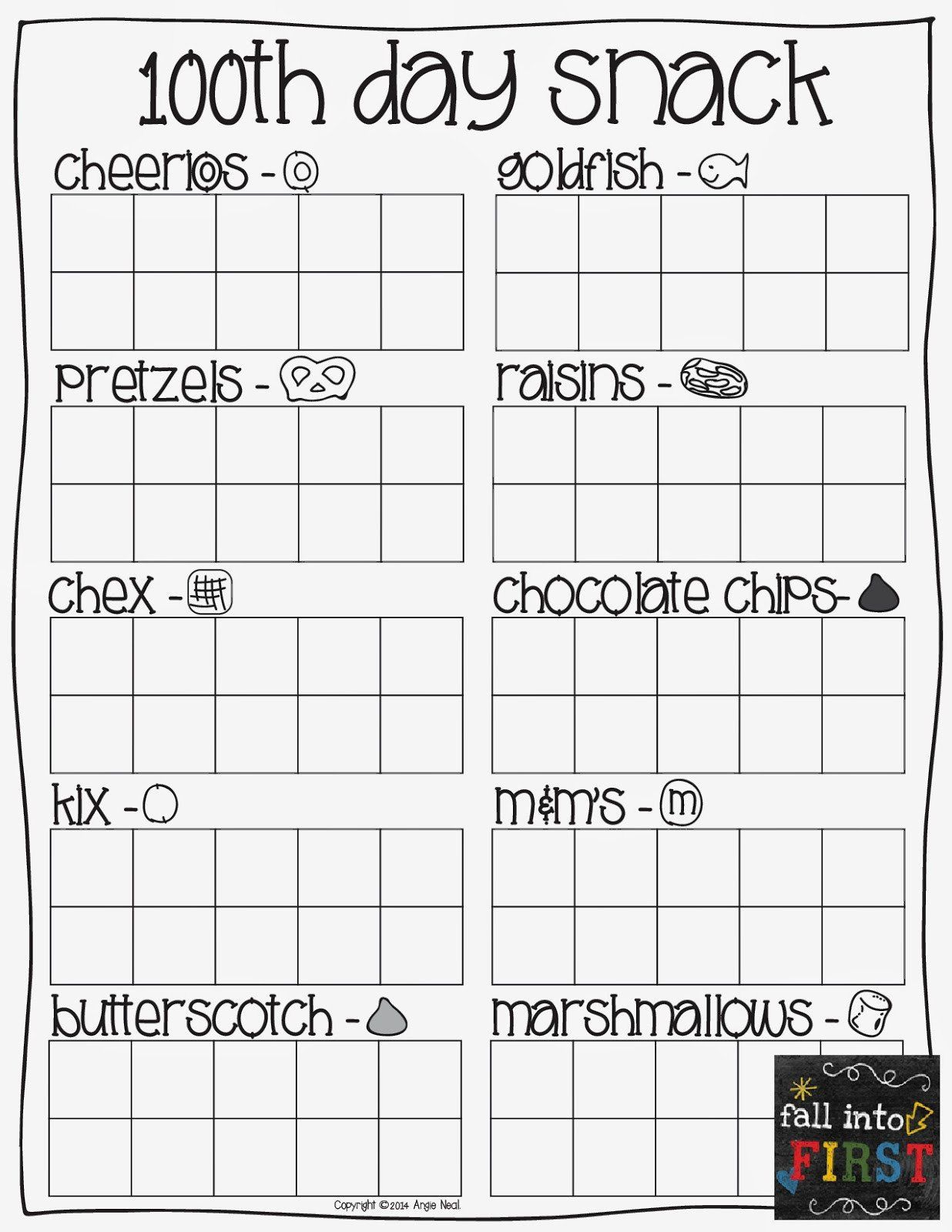 small resolution of 100 Day Worksheets For First Grade   Printable Worksheets and Activities  for Teachers
