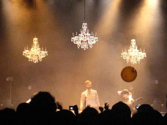 Love the chandeliers from the vampire weekend concert random cool love the chandeliers from the vampire weekend concert aloadofball Image collections