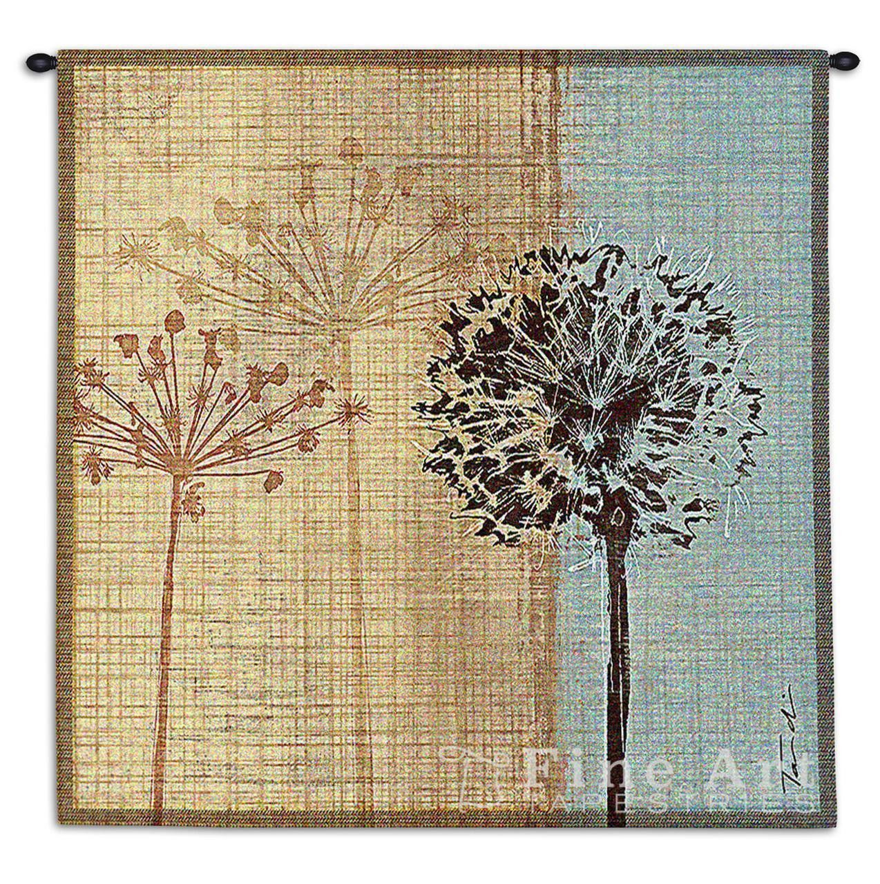 Abstract Dandelions Art Tapestry Wall Hanging | Tapestry wall ...