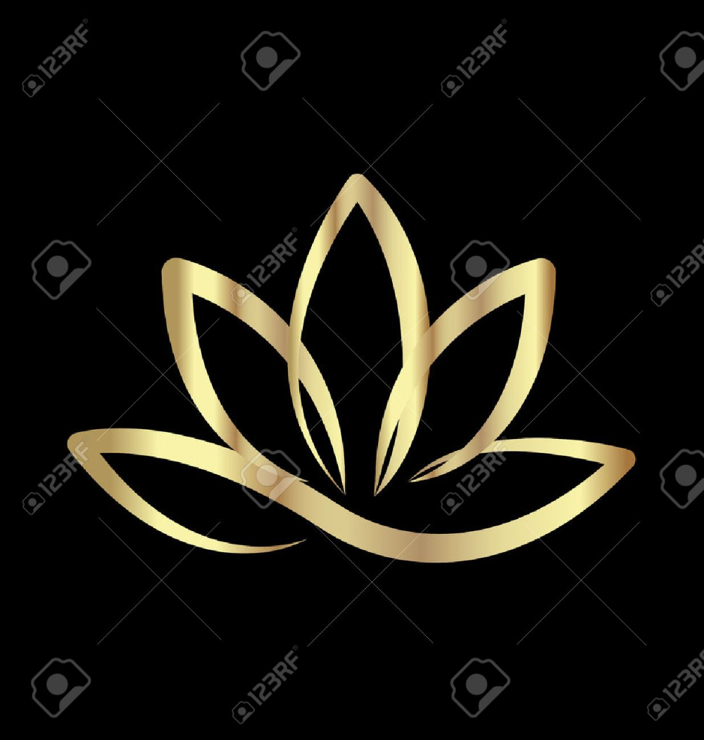Gold Lotus Logo Vector Lotus Logo Gold Lotus Vector Logo