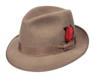 Stetson Terrell Wool Felt Fedora Hat  77d426a261a9