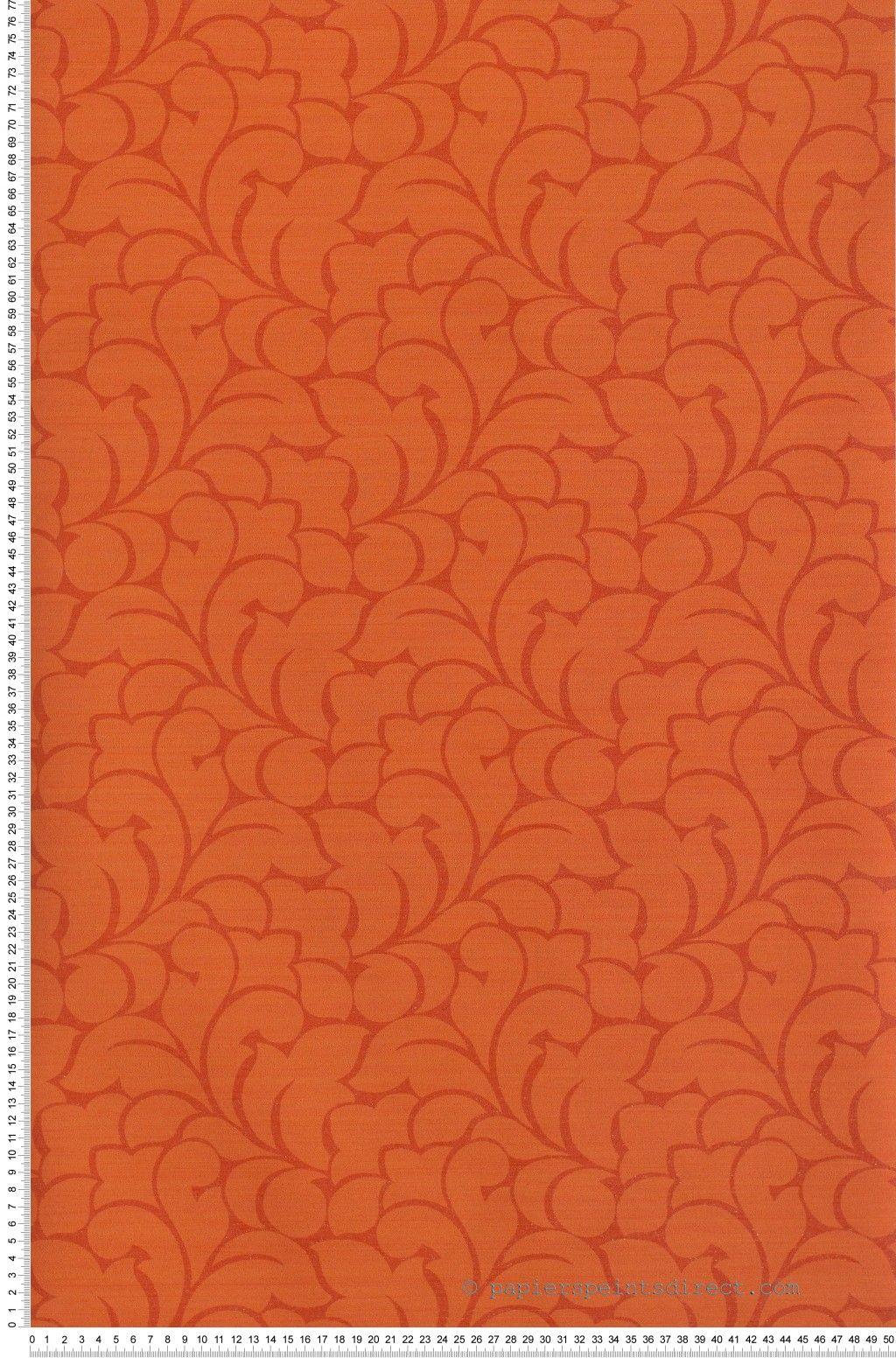 floral sevilla corail papier peint casad co damask pinterest papier peint peindre et. Black Bedroom Furniture Sets. Home Design Ideas