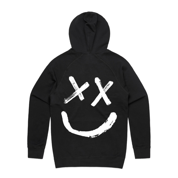 Reverse Smiley Logo Hoodie in 2020 Hoodies, Hooded