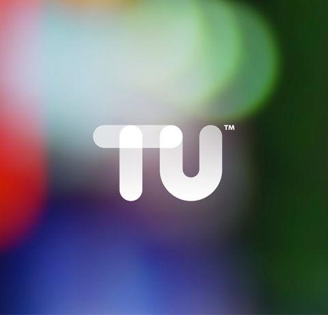 TU Identity. Touch Screen logo style