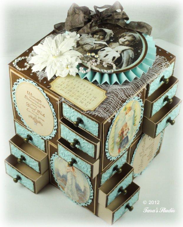 adventskalender boxen pinterest. Black Bedroom Furniture Sets. Home Design Ideas