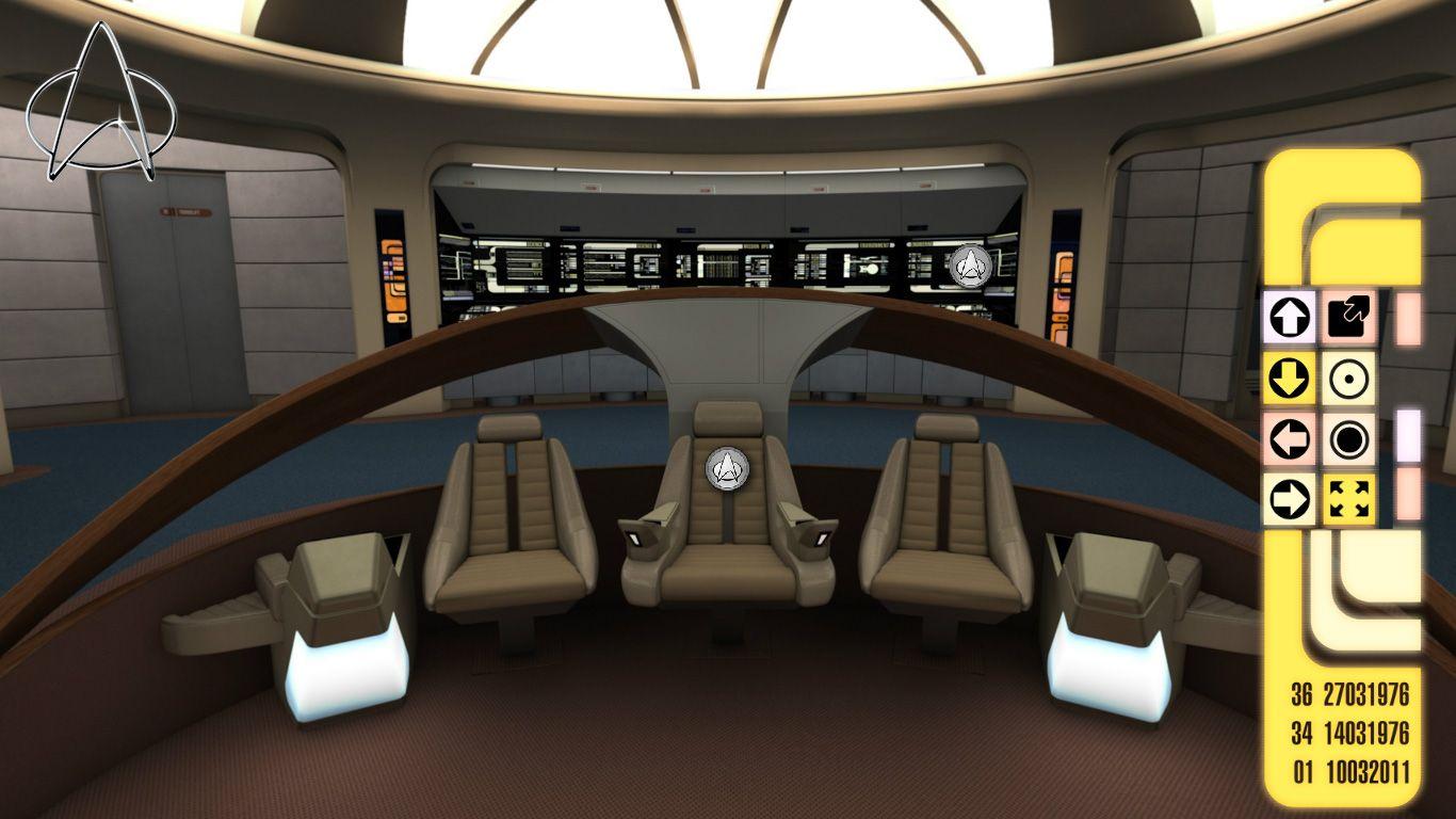 Bridge Of U S S Enterprise Ncc 1701 D Star Trek U S S Enterprise Ncc 1701 D Pinterest