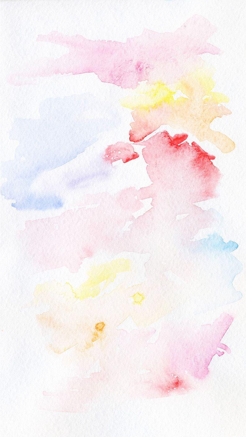 Free Watercolour Iphone Wallpaper Wallpaper Iphonewallpaper