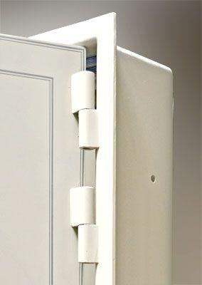 Titan Series Vault Door Heavy Duty Hinge System Solid Steel Frame Vault Doors Doors Safe Room Doors