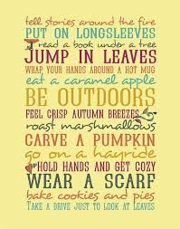 short quotes about fall season - Google Search