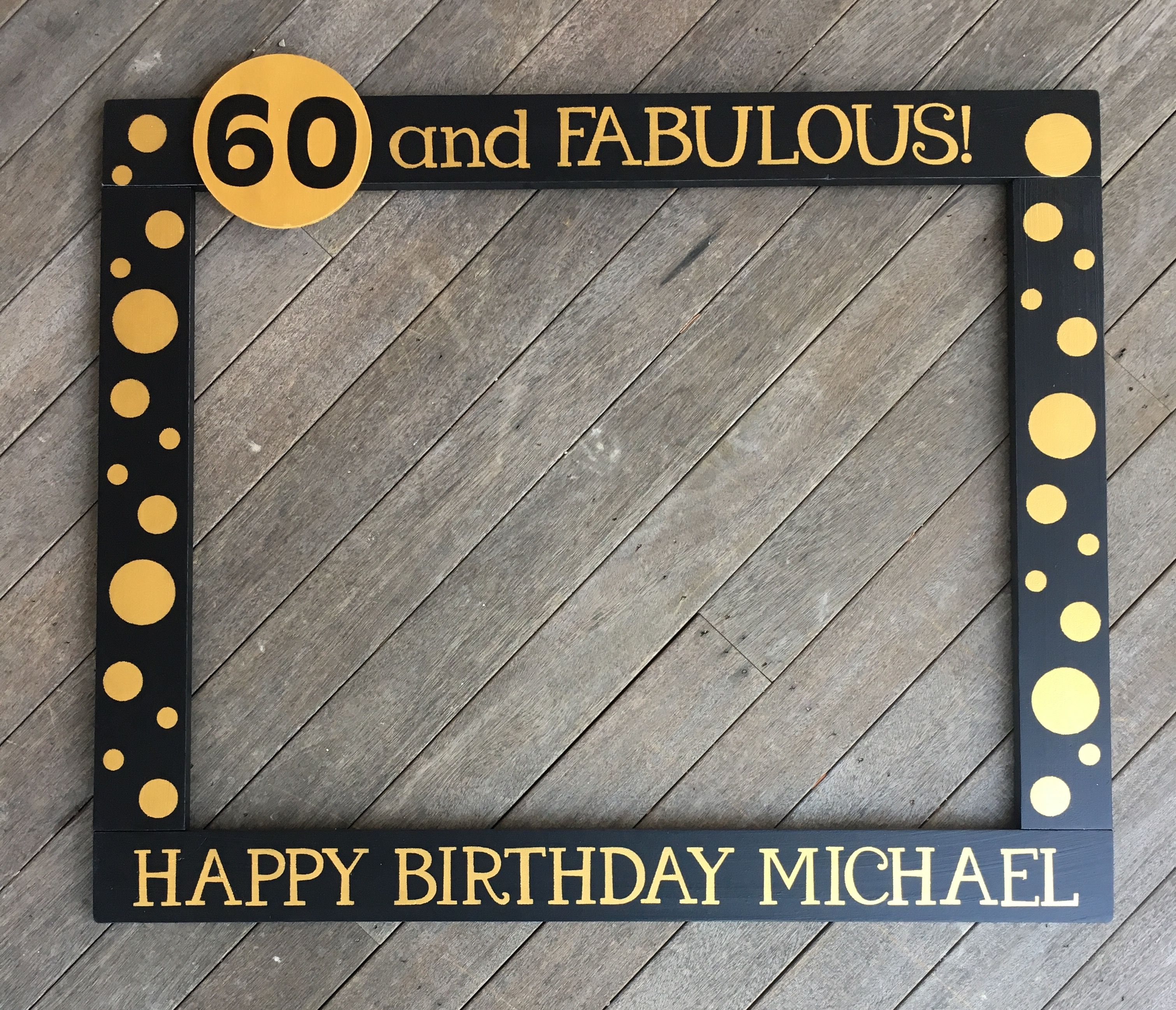 40th Birthday Party Prop