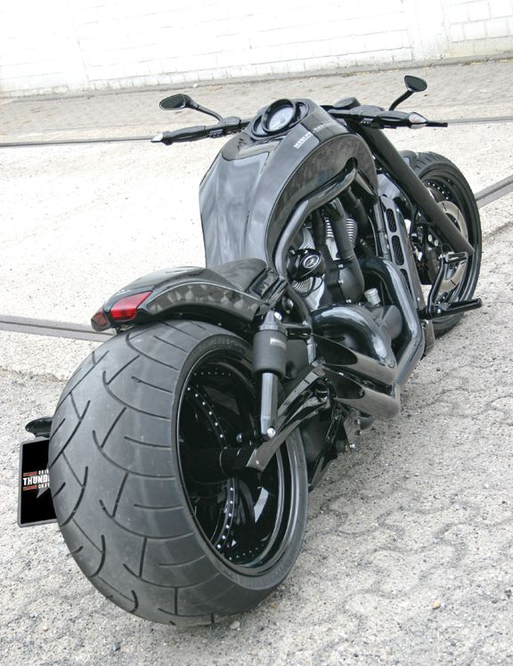 If Batman and The Punisher had a genetically enhanced baby, this would be the bike it would ride...while kicking ass.