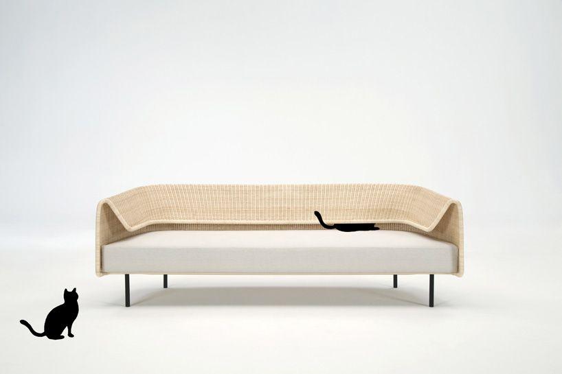 tiroomi tahara's wrap sofa for yamakawa rattan