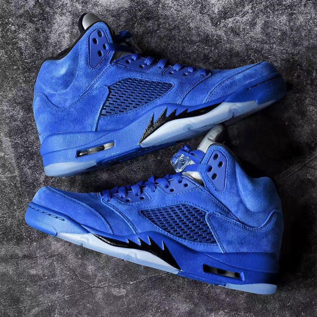 super popular 3f5f2 c8c40 Air Jordan 5 Blue Suede Release Date | Nike and Jordan ...