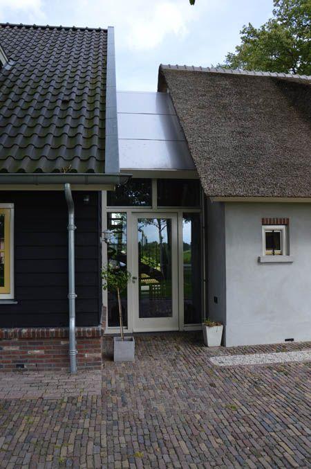 Houten verbinding tussen huis en schuur google zoeken bouwen pinterest breezeway - Tussen huis ...