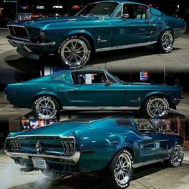 276 Likes 1 Comments Haywire My14rk On Instagram Car Wheels Classic Cars 68 Mustang Fastback