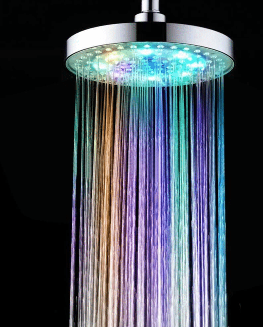 Inlife Color Changing Led Light Shower Head Led Shower Head Shower Heads Led Color