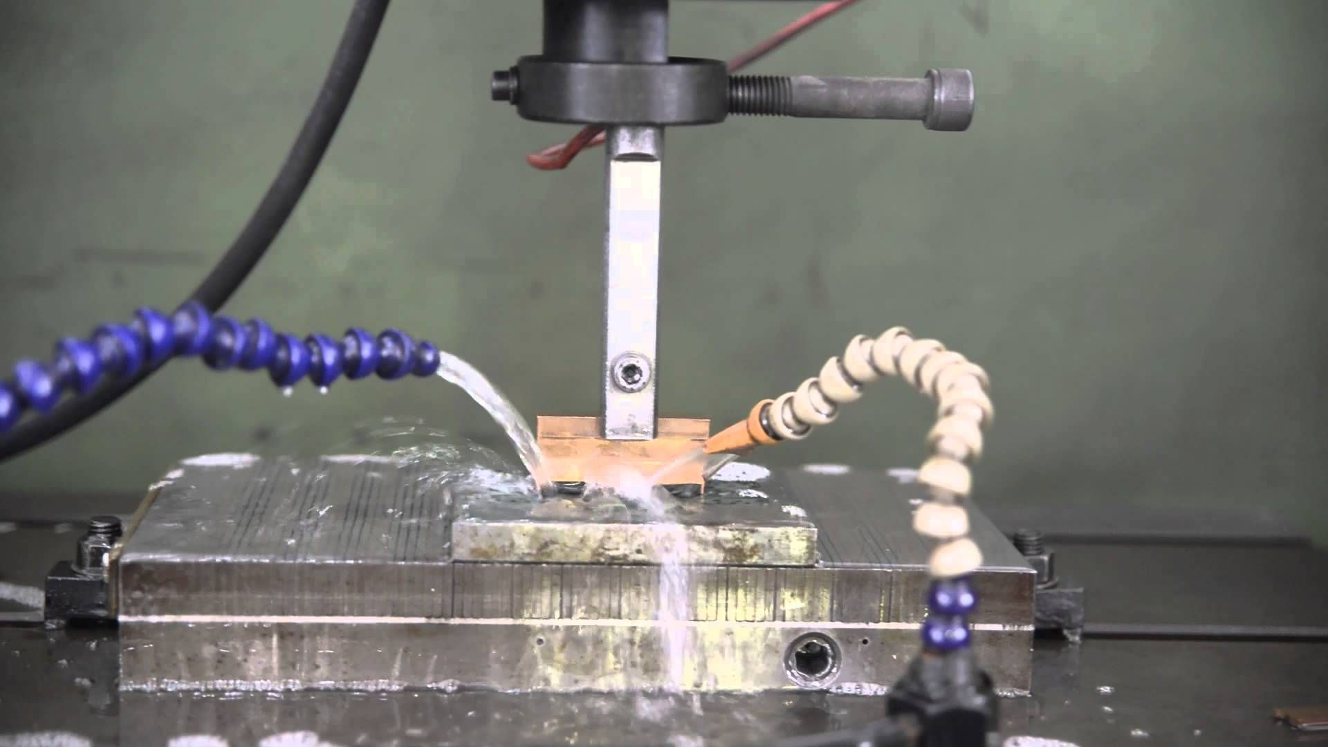 EDM Machine Operation electrical discharge | Plastic Injection