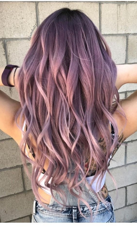 short hair, colors, hair purple - image #6719128 o