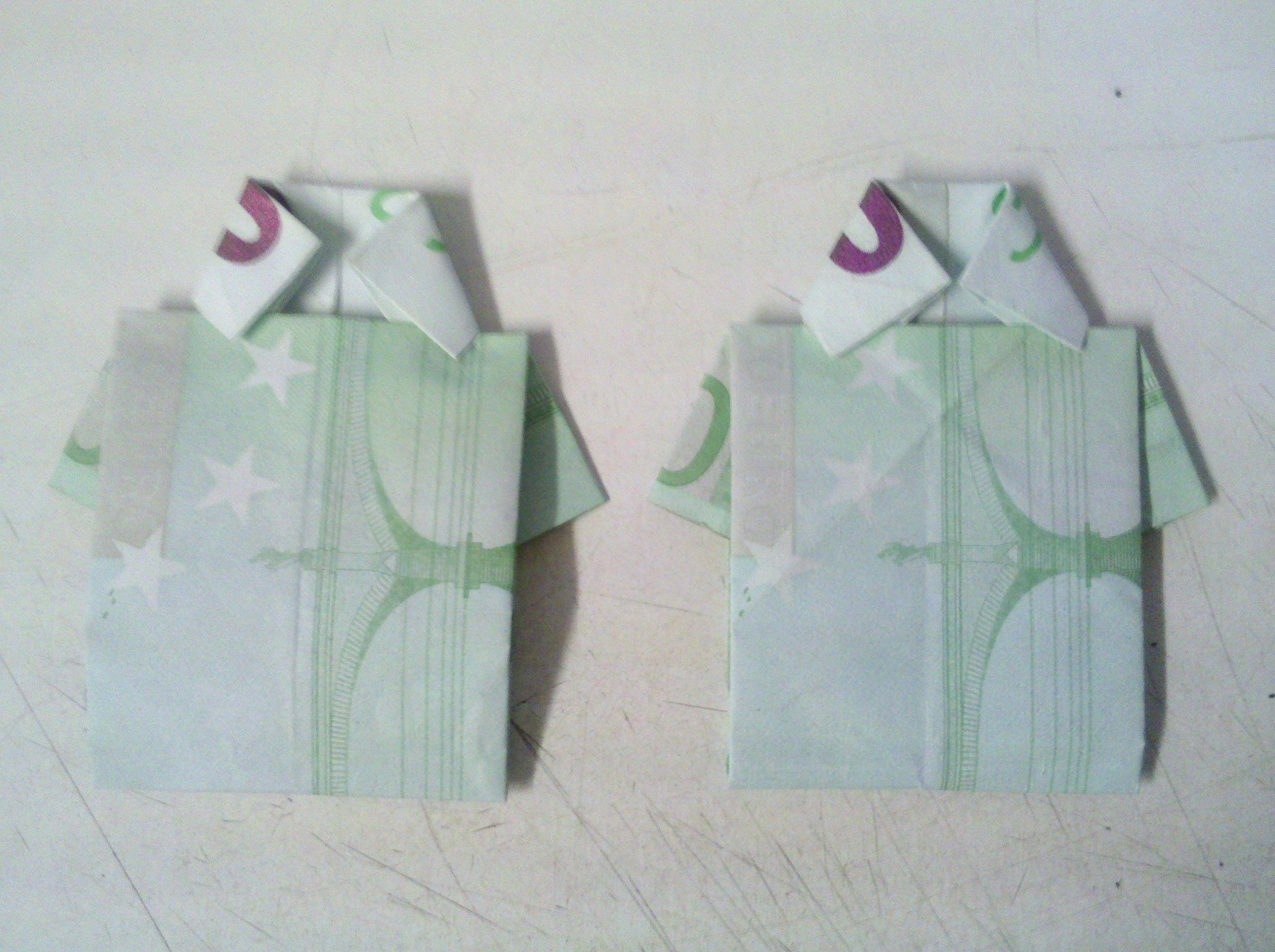 geldscheine falten origami mit geldscheinen on pinterest. Black Bedroom Furniture Sets. Home Design Ideas