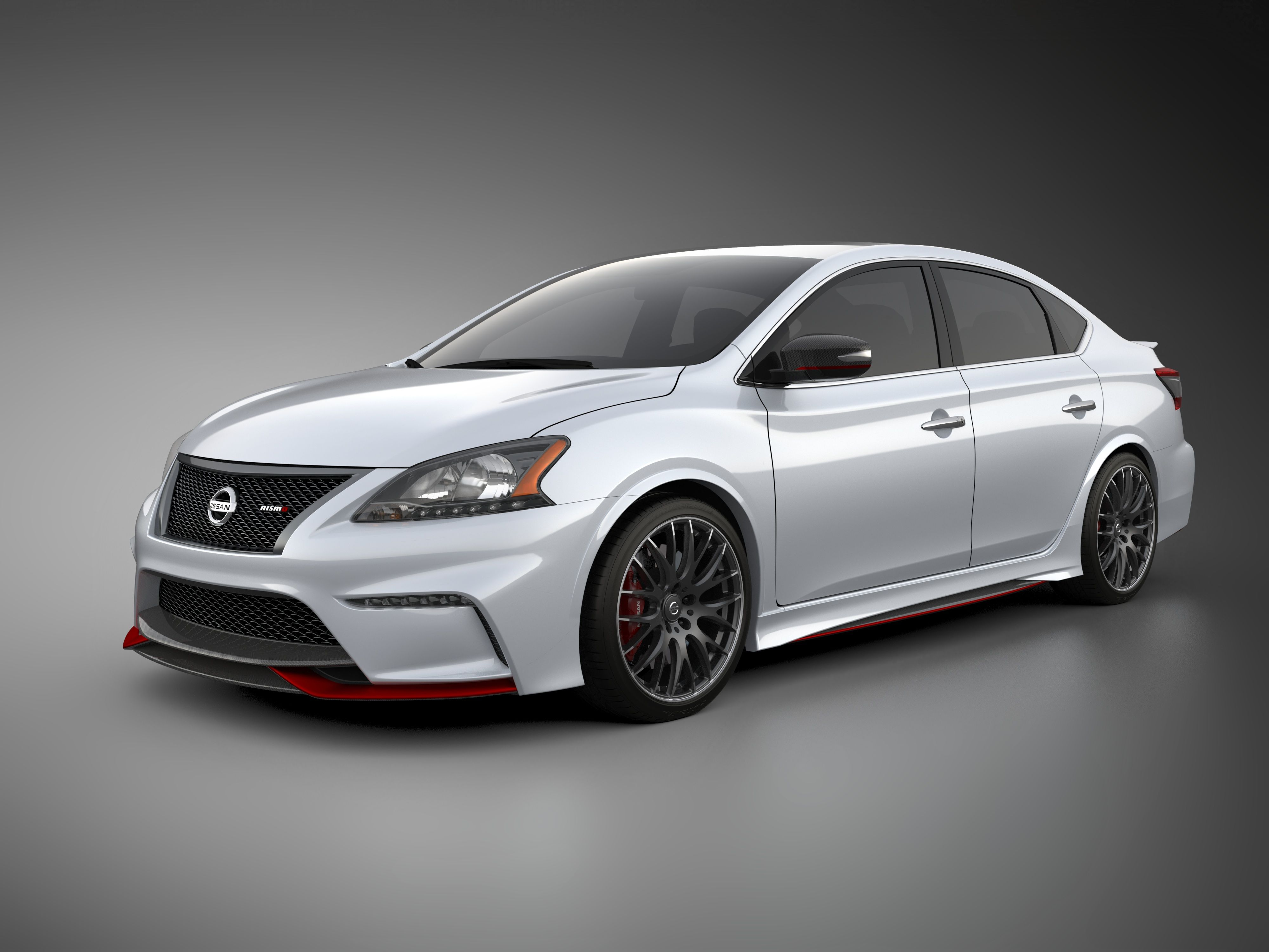 Nissan Sentra NISMO Concept is built on the foundation of the Nissan