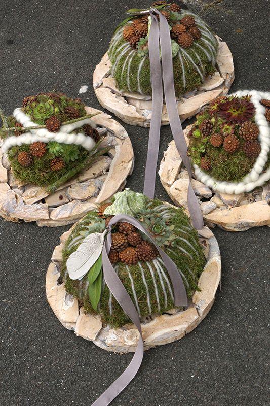 Weihnachtliche Gesteckideen & Totensonntag - Fachgroßhandel für Floristikbedarf, Deko & Wohnaccessoires #gesteckeallerheiligen