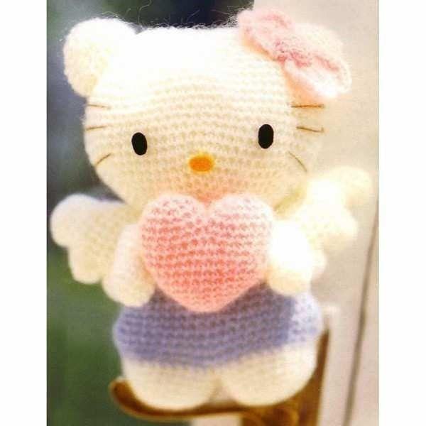 Hello Kitty Angel amigurumi   Patrones amigurumi   Pinterest ...