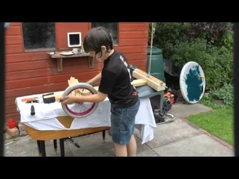 Wooden Go Kart With Bike Wheels