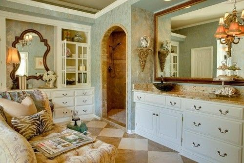 Bath Photos French Master Bath Design, Pictures, Remodel, Decor and Ideas
