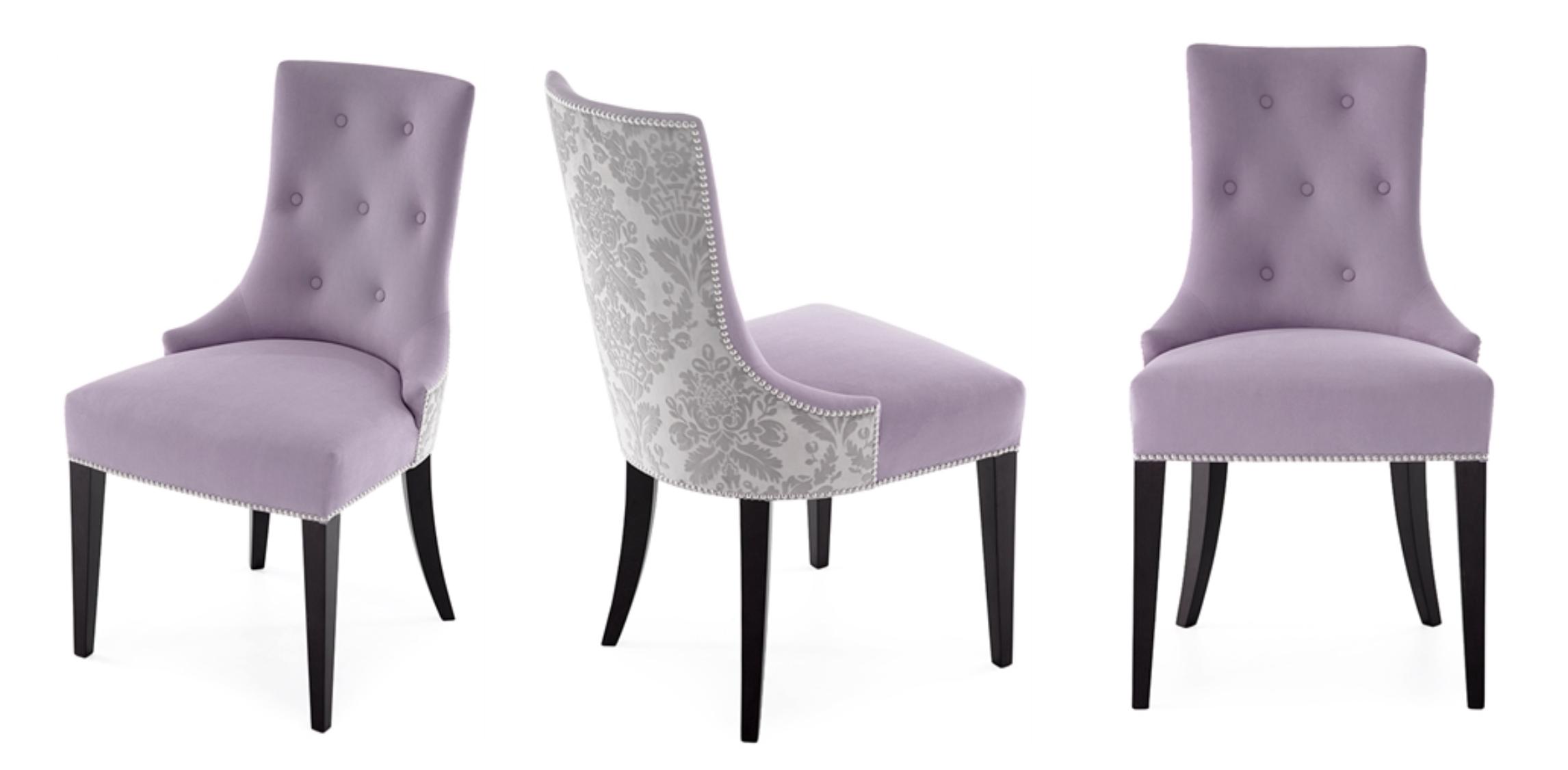 Sb Ka Charles Purple Dining Chairs Bespoke Furniture The
