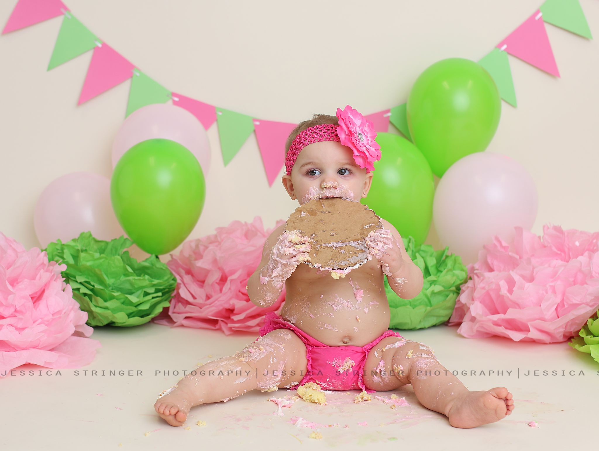 2e825f693 newest collection f05b4 3fff3 one year old session pink romper ...