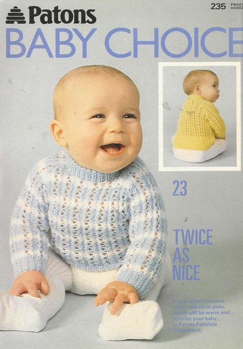 Patons 235 Baby s Choice | baby knitting g | Pinterest
