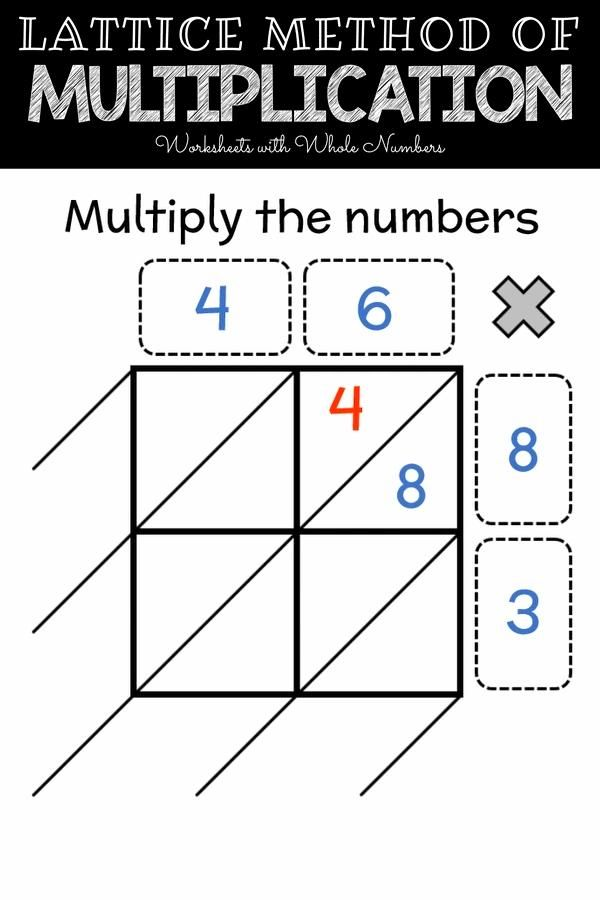 Multiplication Worksheet Lattice Multiplication Two Digit By Two Digit All Multiplication Worksheets Lattice Multiplication Multiplication