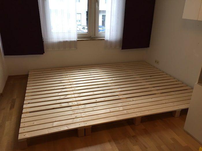 Bauanleitung Bett bauanleitung für ein familienbett small spaces and spaces