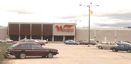 Woolco  The first chain store in our big town    Those were the Days