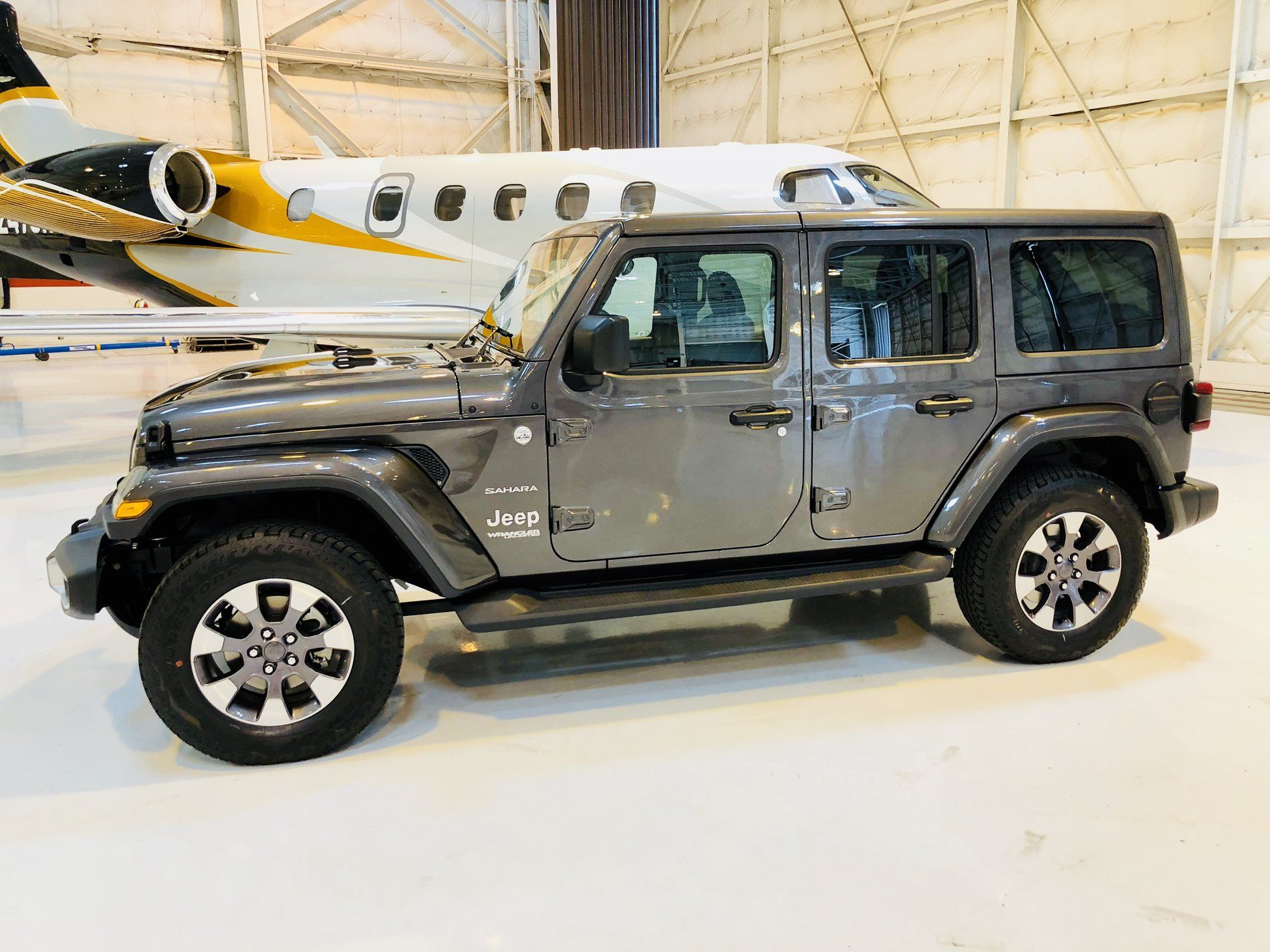 Granite Crystal Metallic Wrangler Jl Club