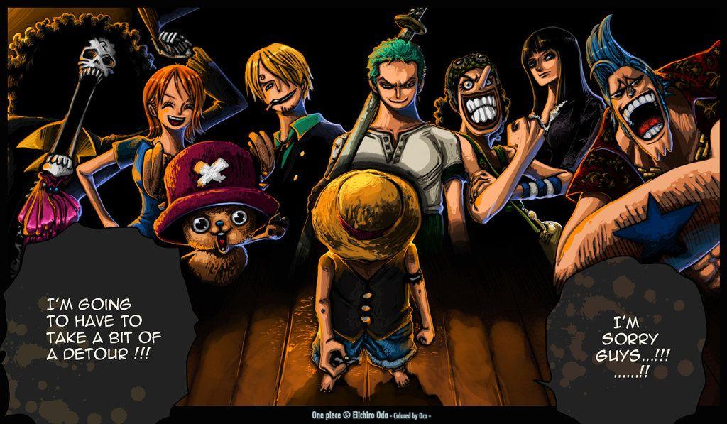 SPOIL One Piece Sorry guys by Gandaresh Anime one