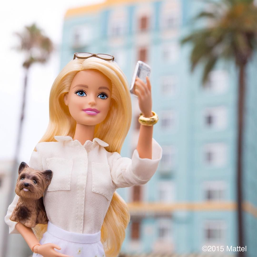 Look up! You never know what you might miss. #barbie #barbiestyle