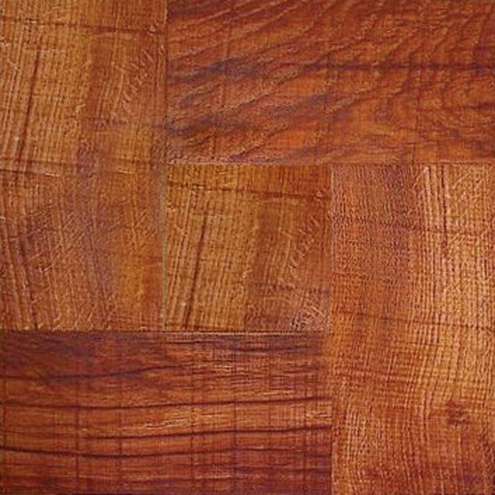 Trafficmaster Deluxe Red Wood 12 In X 12 In Solid Vinyl Tile 30 Sq Ft Case 0 89 Sq Ft 26 70 Cas Wood Vinyl Vinyl Tile Luxury Vinyl Plank Flooring
